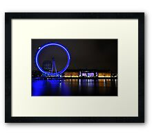 Eye across the Thames Framed Print