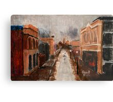 wet day in Freo Metal Print