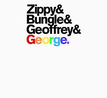 Rainbow - Zippy & Bungle & Geoffrey & George Unisex T-Shirt