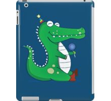 Party Gator iPad Case/Skin