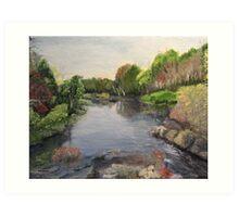 Black River near Actinolite, Ontario Art Print