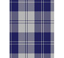 00481 Erskine Blue Dance Tartan  Photographic Print