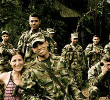Colombian Soldiers... by Valerie Rosen