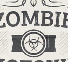 Zombie Biotoxin Label Sticker