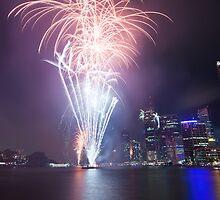 Riverfire in Brisbane | Queensland | Australia by Pawel Papis