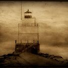 Light of the sea...Manitowac Breakwater Lighthouse © by Dawn Becker