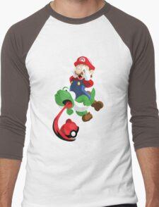 Gotta Eat Them All! Men's Baseball ¾ T-Shirt