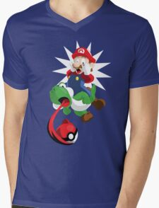 Gotta Eat Them All! Mens V-Neck T-Shirt