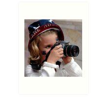 ~Little Aussie Photographer~ Art Print