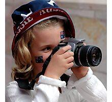 ~Little Aussie Photographer~ Photographic Print