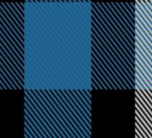 00482 Ferguson Dress Blue Dance Tartan  Sticker