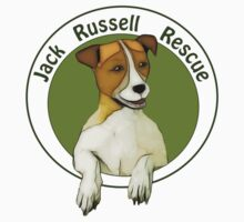 Jack Russell Rescue Logo Tee Shirt by JRTrescue