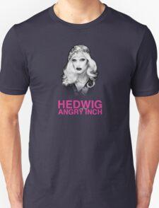Black & White Glamorous Hedwig Unisex T-Shirt