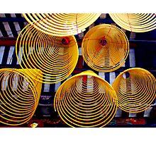 Incense Coils Photographic Print