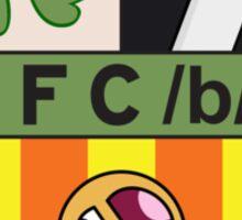/b/ Emblem Sticker