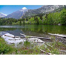 Shore of Lake Maskinonge Photographic Print