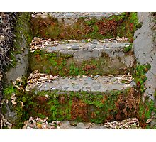 Old Stairs Photographic Print