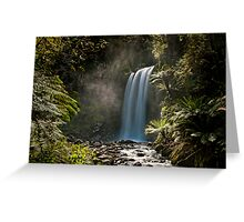 Hopetown Falls in the Otway National Park Greeting Card