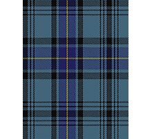 00484 Hannay Blue Clan/Family Tartan  Photographic Print