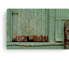 Old Loading Dock Canvas Print
