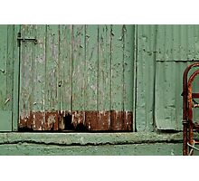 Old Loading Dock Photographic Print
