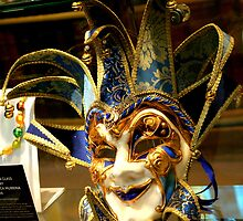 Venetian Mask by redscorpion