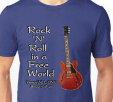 In a free world Unisex T-Shirt
