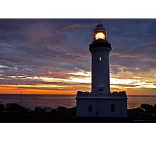 Norah Head Lighthouse at dawn..no2. Photographic Print