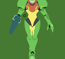 Samus (Green Suit) - Super Smash Bros. by samaran