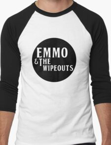 Emmo and the Wipeouts - Black version Men's Baseball ¾ T-Shirt