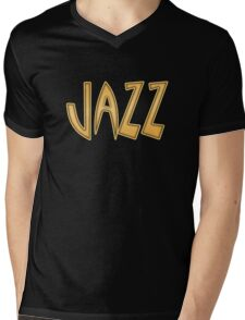 Old jazz Mens V-Neck T-Shirt