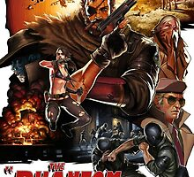 MGSV- Phantom Pain by david orchad