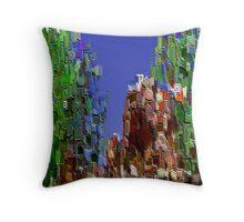 3Dish painting (virtual bas-relief) Throw Pillow