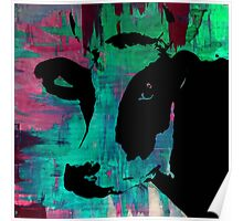 Colorful Cow Rainbow - Prints and Posters by Robert Erod Poster