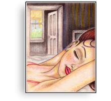 ' Cheryl...3:02 A.M. ' Canvas Print
