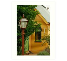 Cobin Farm Church Art Print