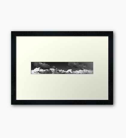Another Beautiful Cloudy Day Framed Print