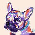 Dog Reggie by Go van Kampen
