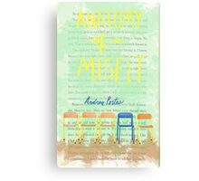 Anatomy of a Misfit Cover Canvas Print