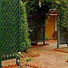 Cottage Garden by Joe Mortelliti