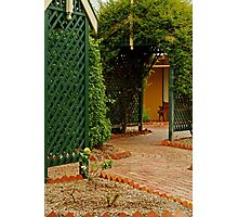Cottage Garden Photographic Print