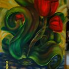 """Mexican Bloodflower"" impression by Jagoda1955"