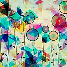 Colorful Abstract Geometric Art by artonwear