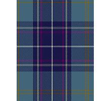 00487 Heirloom Blue Alba Tartan  Photographic Print