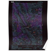 USGS Topo Map Oregon Eagle Cap 279741 1990 24000 Inverted Poster