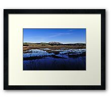 Tomales Bay Ecological Reserve  •  Inverness, California Framed Print