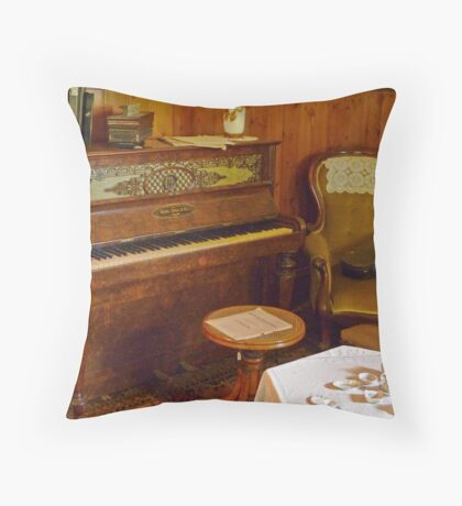 1860's iPod Touch Throw Pillow