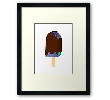 Galaxy Popsicle Framed Print