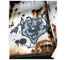 """""""Cartoon Graffiti"""" Poster"""