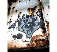 """Cartoon Graffiti"" Photographic Print"